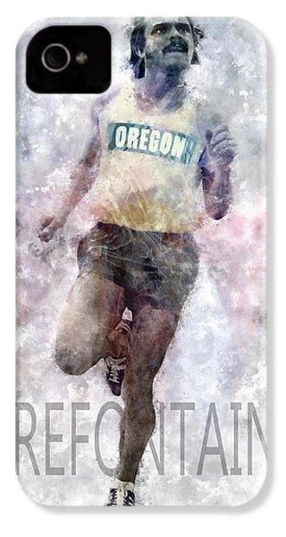 Running Legend Steve Prefontaine IPhone 4 Case