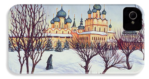 Russian Winter IPhone 4 Case by Tilly Willis