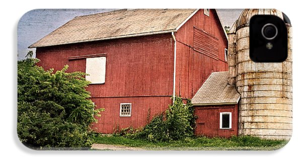 Rustic Barn IPhone 4 Case by Bill Wakeley