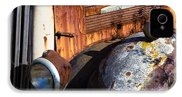 Rusty Truck Detail IPhone 4 Case by Garry Gay
