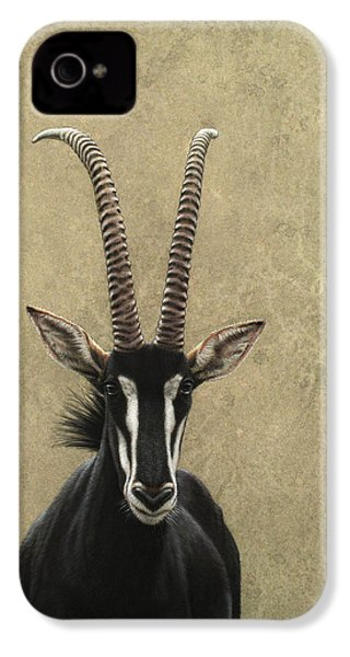 Sable IPhone 4 Case by James W Johnson