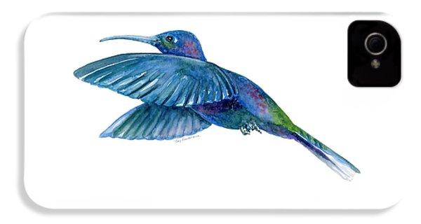 Sabrewing Hummingbird IPhone 4 Case by Amy Kirkpatrick