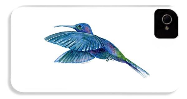 Sabrewing Hummingbird IPhone 4 / 4s Case by Amy Kirkpatrick