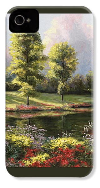 Safe Haven 1 IPhone 4 / 4s Case by Lucie Bilodeau