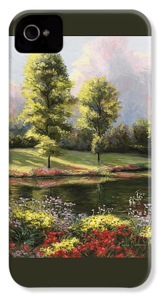 Safe Haven 1 IPhone 4 Case by Lucie Bilodeau