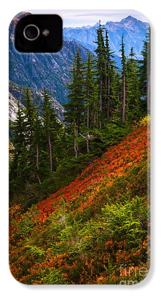 Sahale Arm IPhone 4 Case by Inge Johnsson