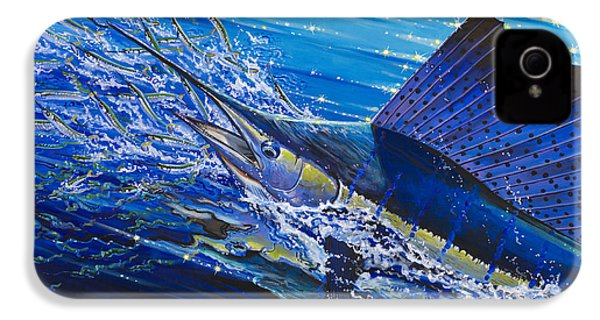 Sail On The Reef Off0082 IPhone 4 Case by Carey Chen