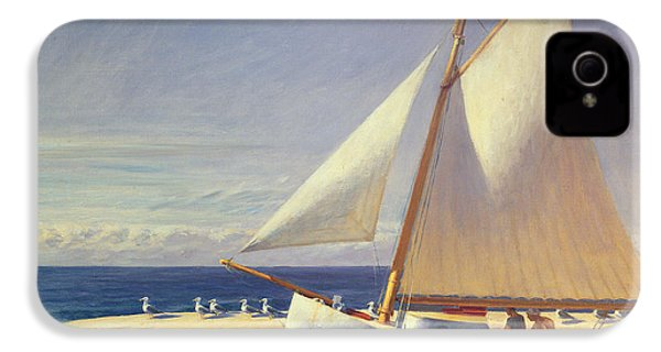 Sailing Boat IPhone 4 Case by Edward Hopper