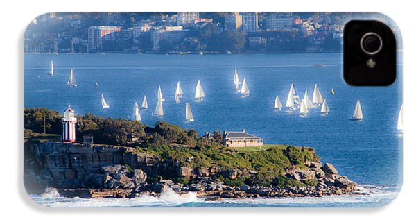 IPhone 4 Case featuring the photograph Sails Out To Play by Miroslava Jurcik