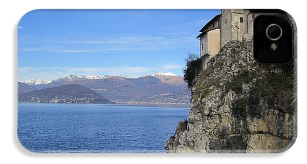 IPhone 4 / 4s Case featuring the photograph Santa Caterina - Lago Maggiore by Travel Pics