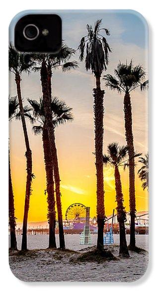 Santa Monica Palms IPhone 4 Case