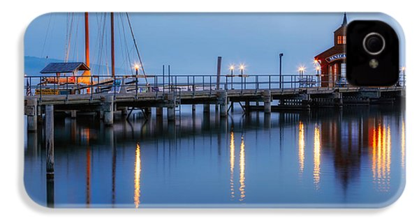 Seneca Lake IPhone 4 Case by Bill Wakeley