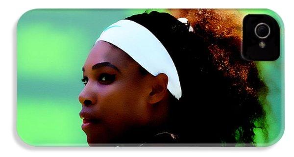 Serena Williams Match Point IPhone 4 Case
