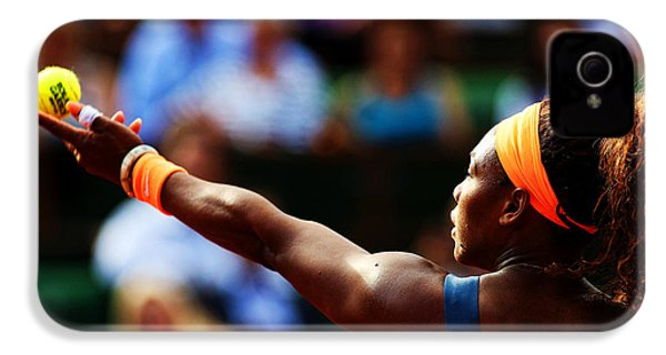 Serena Williams IPhone 4 / 4s Case by Srdjan Petrovic