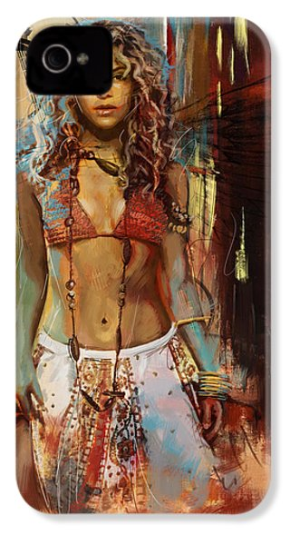 Shakira  IPhone 4 Case by Corporate Art Task Force