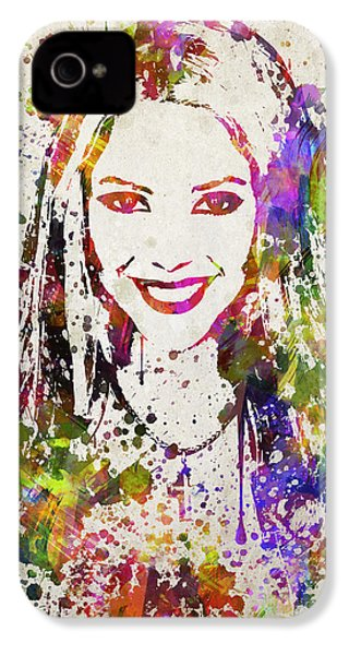 Shakira In Color IPhone 4 Case by Aged Pixel