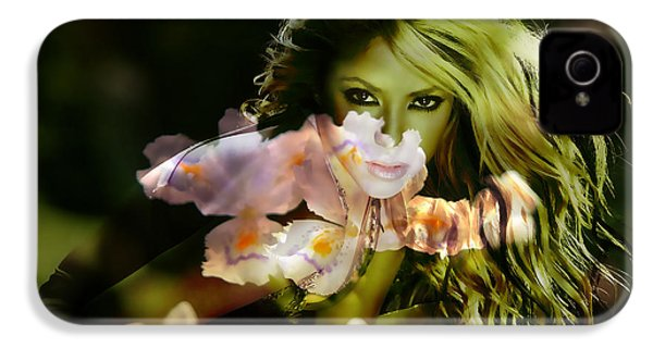 Shakira IPhone 4 Case by Marvin Blaine