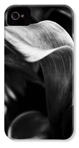 Shapely As A Lily IPhone 4 Case by Christi Kraft
