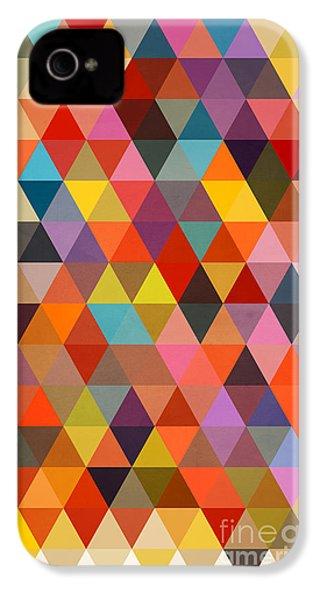 Shapes IPhone 4 / 4s Case by Mark Ashkenazi