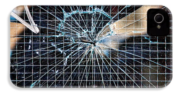 Shattered But Not Broken IPhone 4 Case