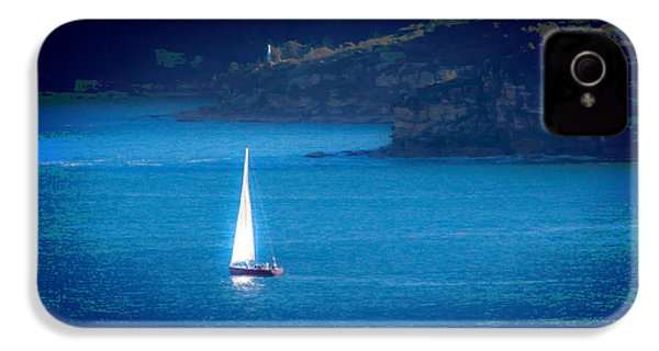 IPhone 4 Case featuring the photograph Shimmer Of The White Sail by Miroslava Jurcik