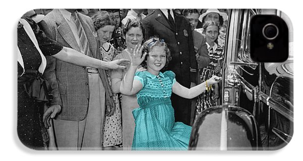 Shirley Temple IPhone 4 Case by Andrew Fare