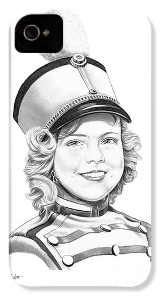 Shirley Temple IPhone 4 Case by Murphy Elliott