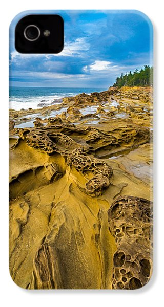 Shore Acres Sandstone IPhone 4 Case by Robert Bynum