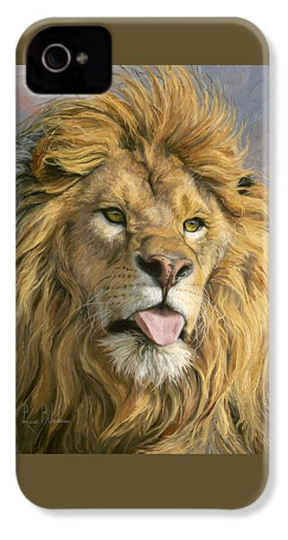 Silly Face IPhone 4 Case by Lucie Bilodeau