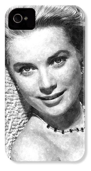 Simply Stunning Grace Kelly IPhone 4 Case by Florian Rodarte