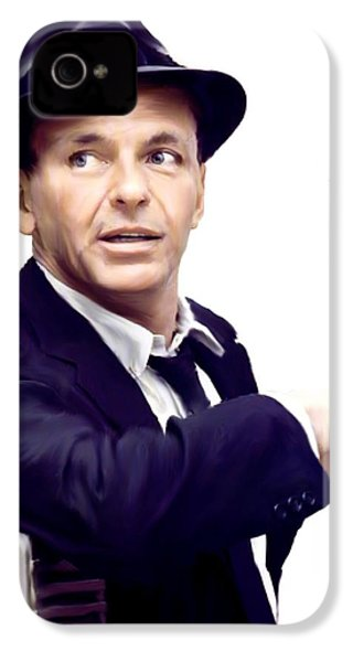 Sinatra.  Frank Sinatra IPhone 4 / 4s Case by Iconic Images Art Gallery David Pucciarelli