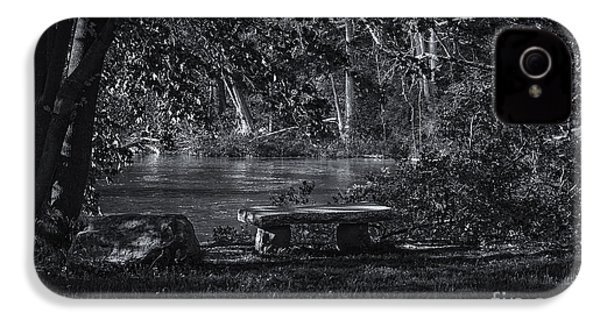 IPhone 4 Case featuring the photograph Sit And Ponder by Mark Myhaver