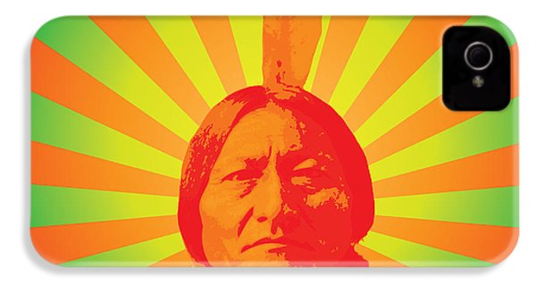 Sitting Bull IPhone 4 / 4s Case by Gary Grayson