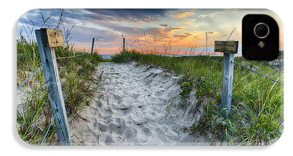 Sleeping Bear National Lakeshore Sunset IPhone 4 / 4s Case by Sebastian Musial