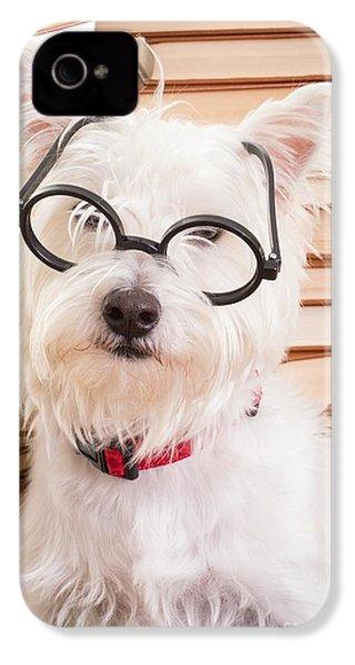Smart Doggie IPhone 4 Case by Edward Fielding
