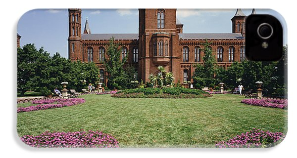 Smithsonian Institution Building IPhone 4 Case by Rafael Macia