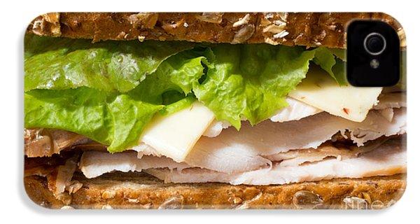 Smoked Turkey Sandwich IPhone 4 Case by Edward Fielding