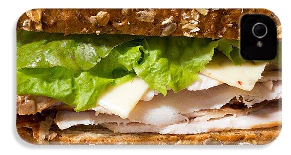 Smoked Turkey Sandwich IPhone 4 / 4s Case by Edward Fielding
