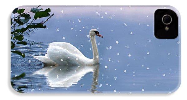 Snow Swan  IPhone 4 Case