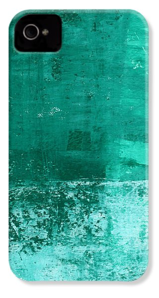 Soothing Sea - Abstract Painting IPhone 4 Case