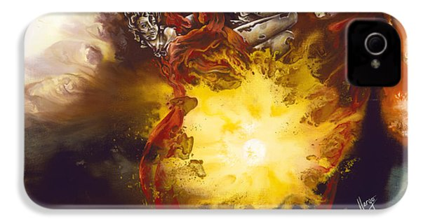 Source Of Strength IPhone 4 Case by Karina Llergo