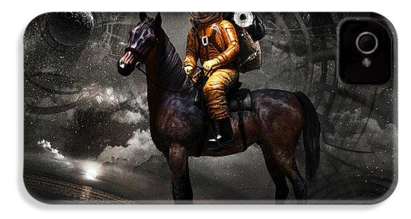 Space Tourist IPhone 4 / 4s Case by Vitaliy Gladkiy