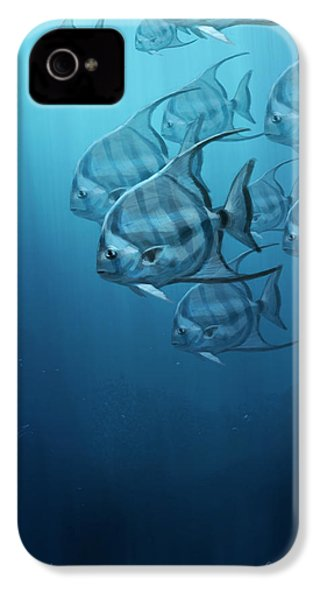 Spade Fish IPhone 4 Case by Aaron Blaise