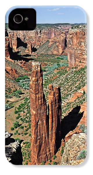 Spider Rock Canyon De Chelly IPhone 4 / 4s Case by Christine Till