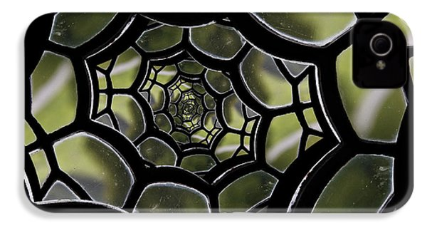 IPhone 4 Case featuring the photograph Spider's Web. by Clare Bambers