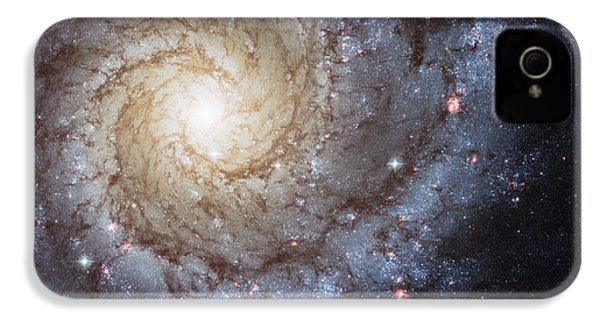 Spiral Galaxy M74 IPhone 4 Case