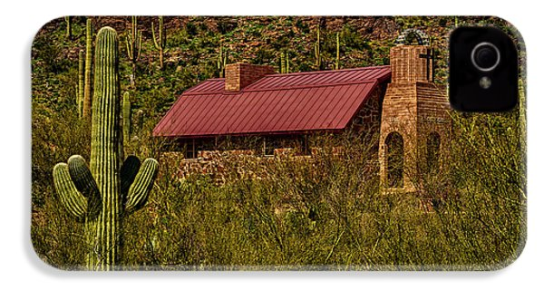 IPhone 4 Case featuring the photograph Spiritual Oasis by Mark Myhaver