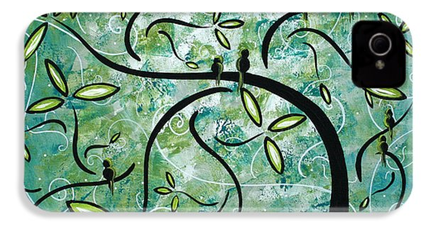 Spring Shine By Madart IPhone 4 Case by Megan Duncanson