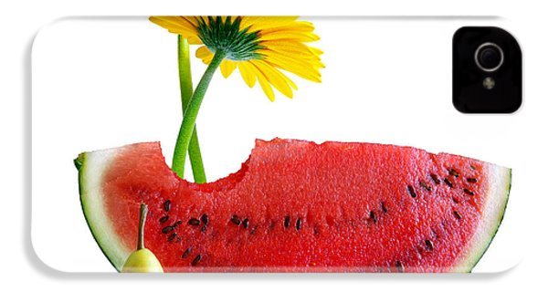 Spring Watermelon IPhone 4 Case by Carlos Caetano