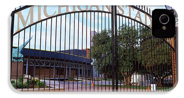 Stadium Of A University, Michigan IPhone 4 Case by Panoramic Images